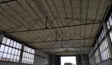 Izolace stropu haly v Přerově